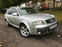 AUDI A6 ALL ROAD ESTATE 2.5 DIESEL AUTO 2005 1 PREVIOUS OWNER SAT NAV HEATED 1/2 LEATHERS BOSE SOUND