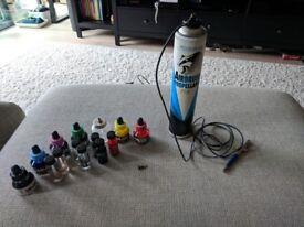Badger Airbrush + paints