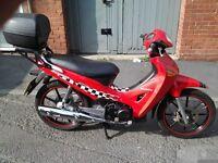 Honda anf 125 innova. 2003. Learner leagle-exellent fuel economy.