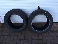 New Bridgestone 245/45/17 tyres x2