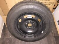 Spare Wheel - VW Golf Mark IV