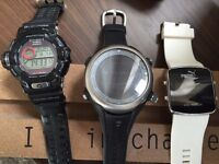 G-shock, Auriol and Puma watches