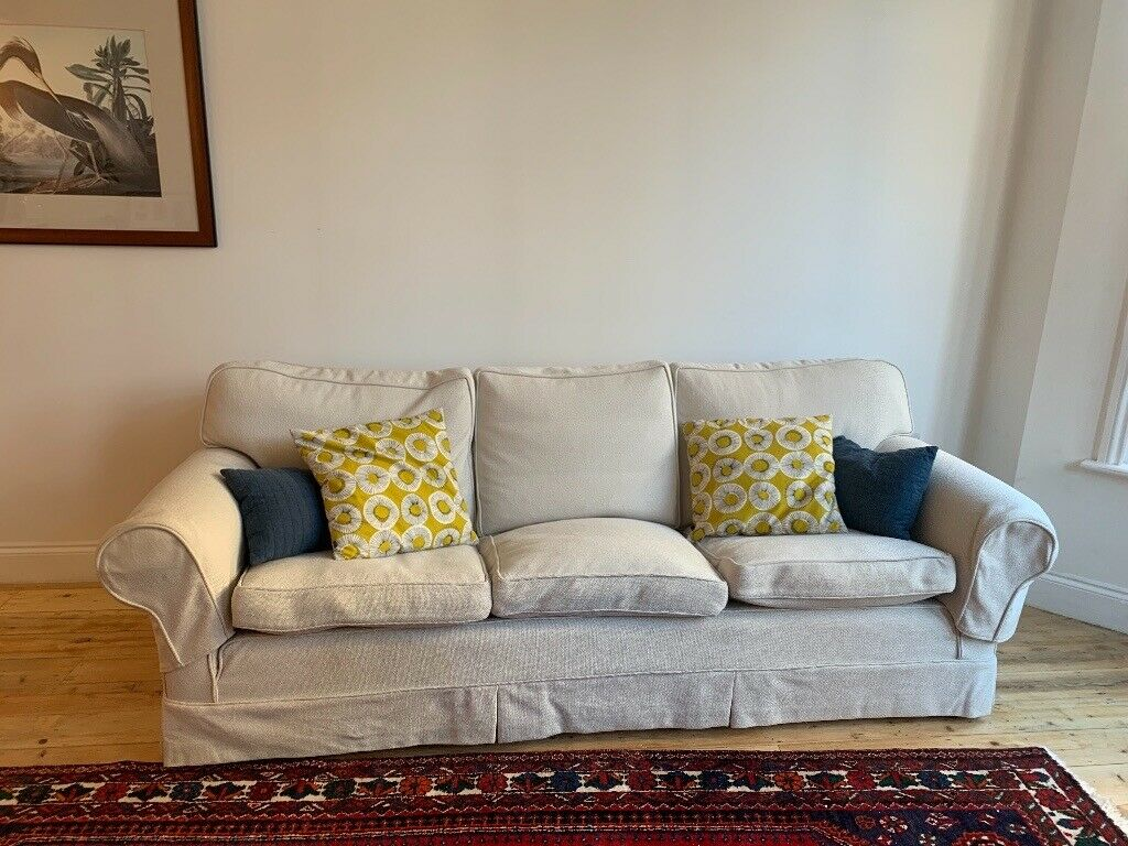 Stupendous Perfect Condition 3 Seater Off White Sofa In Brixton London Gumtree Pdpeps Interior Chair Design Pdpepsorg