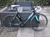 Mekk Pinerolo 1.5 Road Bike, size 54cm frame, Blue / Black Excellent condition