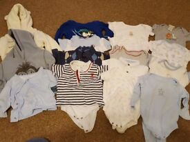 Baby boys clothes 3-6 months in excellent condition