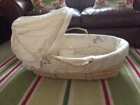 Mammas & Pappas Moses Basket