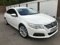 2010 Volkswagen Passat CC 2.0TDI (140ps) White Diesel Manual 4 Doors