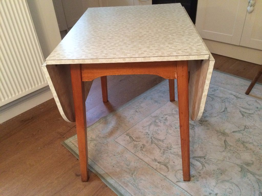 Vintage Retro Phg Sons Ltd Guildform Guildford Melamine Dining  # Image Table Tv En Melamine