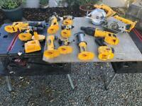Dewalt 18v power tools