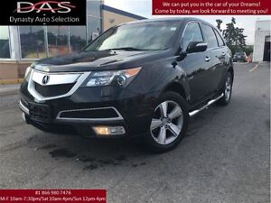 2012 Acura MDX TECHNOLOGY NAVIGATION/LEATHER/SUNROOF