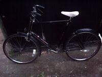 Vintage Pashley Roadster bike