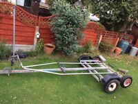 Combi dinghy trailer