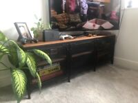 TV stand and coffee table set (IKEA)