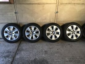 Genuine Volkswagen Beetle 1.8T 16 inch Alloy Wheels with tyres also fit Golf MK 4, Bora - VW Alloys