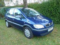 Vauxhall Zafira Life 1.6 petrol '05 7SEATS