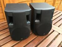 Pair of 60w JVC speakers