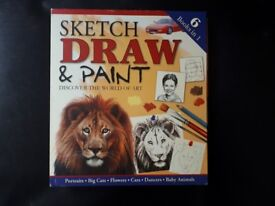 Sketch Draw & Paint: 6 Books in 1