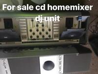 Dj home mixer cd