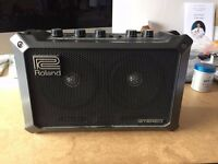 Roland Mobile Cube busking amp