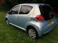 Toyota aygo 1.0 Petrol,Manual,5 door,77k,3 Owners,12 Months MOT,Hpi clear
