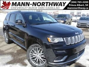 2017 Jeep Grand Cherokee Summit | Navigation, Leather, Hemi, Sun