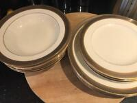 China Plates Gold Noritake