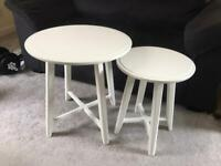 White side tables/ coffee tables KRAGSTA