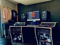 Mixing, Producing, Engineering Days Hire In Proffesional Recording studio
