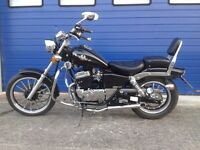 2014 ajs dd 125 regal raptor chopper , custom learner legal motorcycle full hpi clear