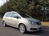 MARCH 2007 VAUXHALL ZAFIRA DESIGN 1.9 CDTI 150BHP 6SPEED EXCELLENT CONDITION - MOT MAY 2018-