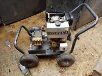 diesel powered pressure washer