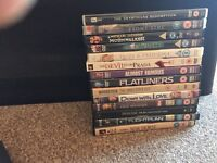 DVD lot. Great Movies. Mint Condition