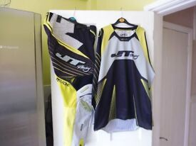 JT RACING Motocross pants and top