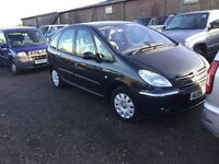56 reg DIESEL CITREON Picasso very good driver ideal family car in metallic grey cloth trim px welco