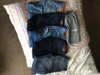 6pairs mens quality jeans-Levi, Superdry, G-Star Raw