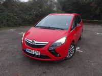 Vauxhall Zafira Tourer Tech Line CDTi Ecoflex Ss Manual Diesel 0% FINANCE AVAILABLE