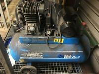Abac hp3 100ltr electric air compressor