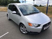 2010 MITSUBUSHI COLT CZ2 1.3 *AUTOMATIC* - SILVER - 5 DOOR - MOT - SERVICE HISTORY - IDEAL FIRST CAR