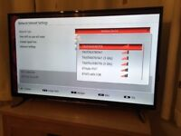 Hitachi 49 inch 4k ultra hd smart led tv.5 MONTH OLD. Warranty and receipt. CAN DELIVER