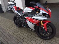 THOUSANDS WORTH OF EXTRAS, LOW MILEAGE, YAMAHA YZF-R1 2012 50th ANNIVERSARY EDITION