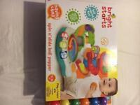 Spin n slide ball popper