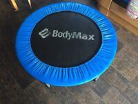 Mini trampoline, body max 40 inch. Good condition.