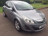 VAUXHALL CORSA 1.2 i 16V SXI 3 dr In SILVER. RECENT MOT & SERVICE. GENUINE REASON FOR SALE.