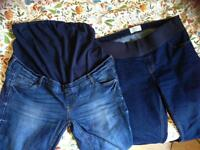 Maternity Jeans- Size16 New Look &a Red Herring