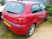 Alfa romeo 147 spares or repair