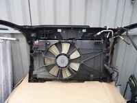 RADIATOR + AIR CON RAD WITH MOUNT FOR MAZDA 5 SPORT MPV 2L DIESEL 2007'
