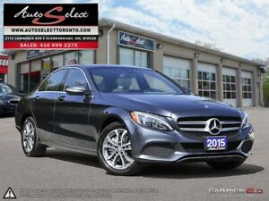 2015 Mercedes-Benz C-Class 4Matic C300 AWD ONLY 81K! **TECHNO...