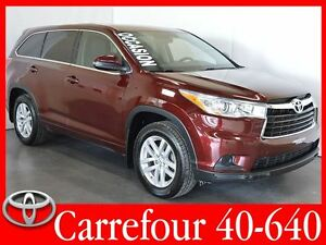 2014 Toyota Highlander LE AWD 8 Passagers+Demarreur a Distance