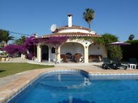 Beautiful 3 Bed Villa With Own Lovely Pool In Exotic Gardens By Sea, Sandy Beach, Denia, Spain