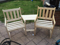 love seats/jack and jill sets all hand made very strong